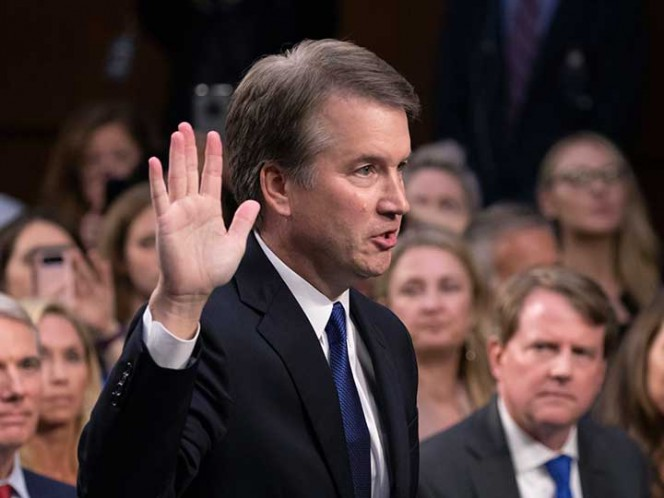 Kavanaugh dice que acusación sobre agresión sexual es falsa