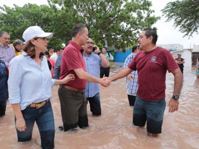 Quirino Ordaz solicita Declaratoria de Emergencia para el norte de Sinaloa