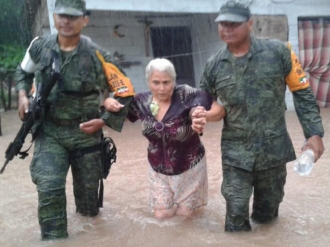 Segob declara emergencia para 11 municipios de Sinaloa