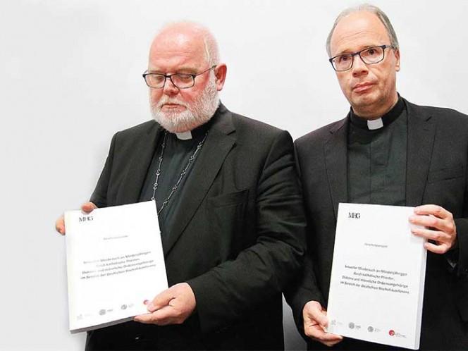 Iglesia alemana ofrece disculpas por casos de pederastia