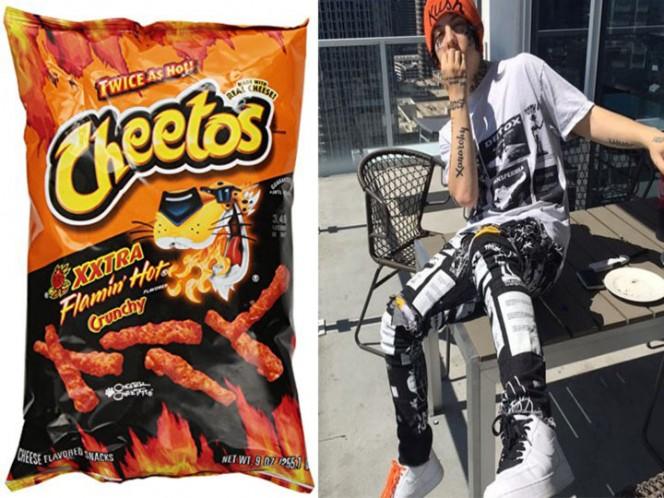 Rapero Lil Xan termina hospitalizado por comer demasiados Cheetos Flamin' Hot