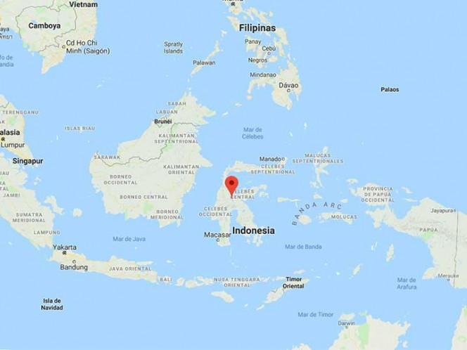 Tras un fuerte terremoto Indonesia recibe pocas horas después un tsunami