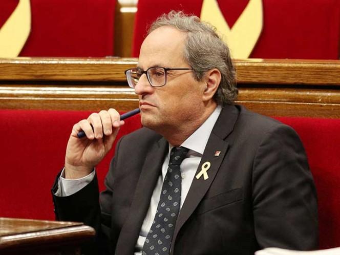 Quim torra da un mes al Gobierno español para acordar un referéndum