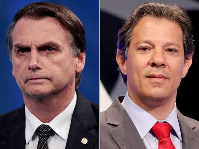 Bolsonaro y Haddad, mano a mano: ¿Cuándo será el balotaje en Brasil?