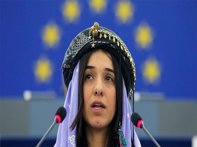 De esclava sexual a ganadora del premio Nobel de la Paz