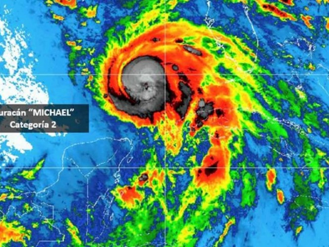 Poblado Mexico Beach devastado por huracán Michael que baja a categoría 3