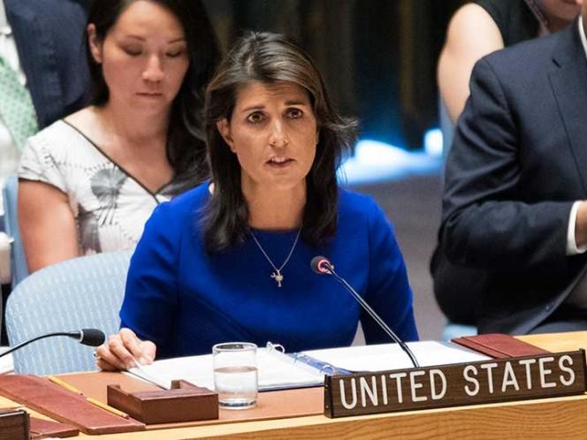 Nikki Haley renunció como embajadora de EEUU
