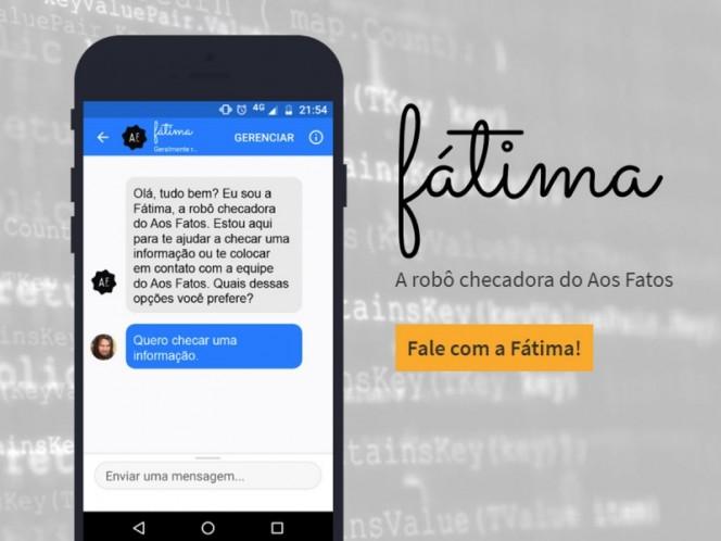 Fátima, el bot que combate las fake news electorales en Brasil