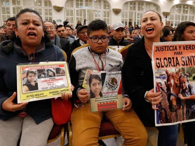 En México hay 37 mil 485 desaparecidos: Gobernación