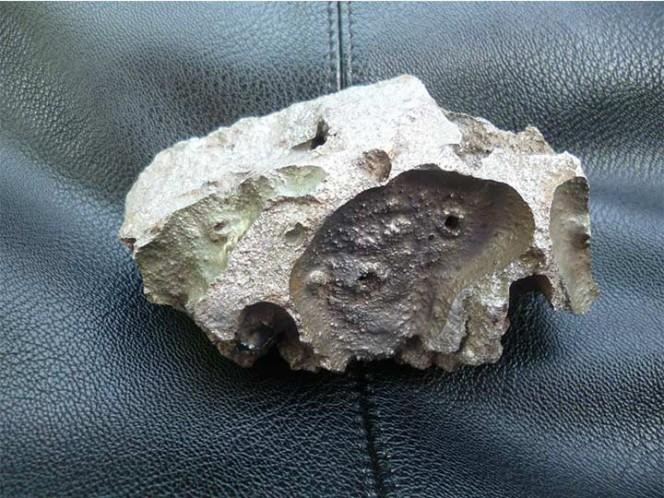 Meteorito que cayó en edificio es tan antiguo como el sistema solar