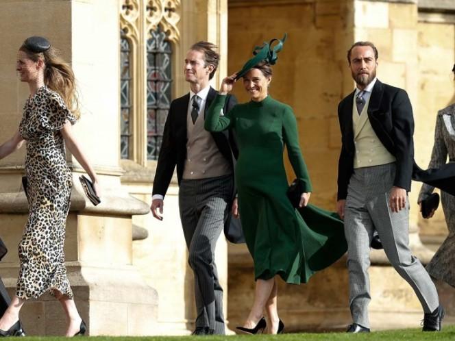 Pippa Middleton da a luz un varón