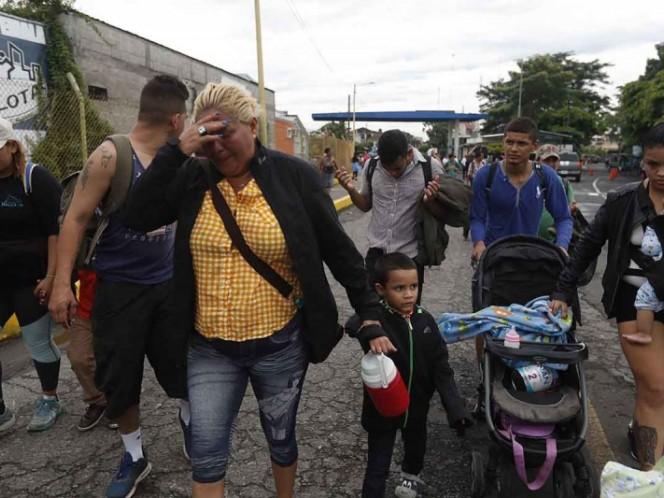 Acepta ONU ayudar a México por caravana migrante
