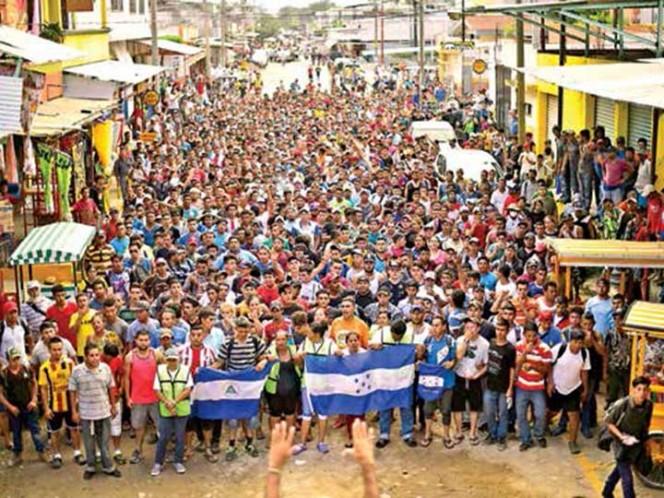 Se regresa mitad de caravana migrante; México recibe 640 peticiones de refugio