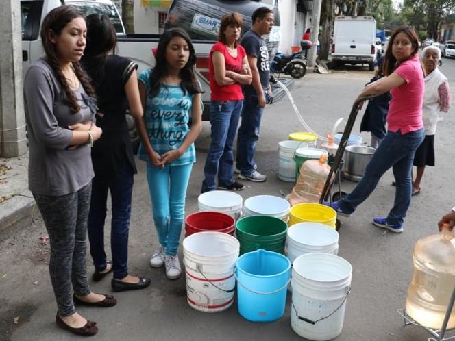 Por falta de agua, suspenderán clases en CDMX a partir del 31 de octubre