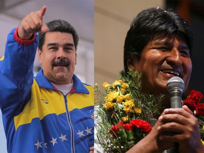 Nicolás Maduro y Evo Morales acudirán a toma de posesión de AMLO