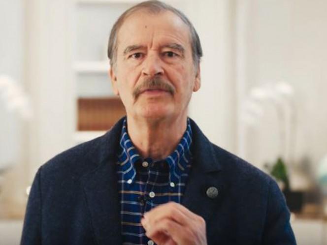 Cambié de opinión, ayudaré a pagar el muro: Vicente Fox
