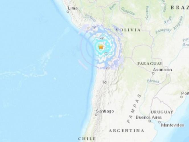 Sismo de magnitud 6,2 sacude el Norte de Chile #1Nov