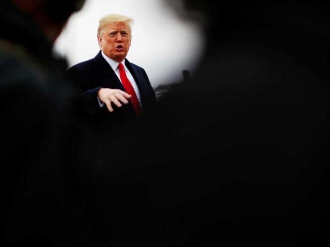 Trump dice que 'probablemente' no se reunirá con Putin en París