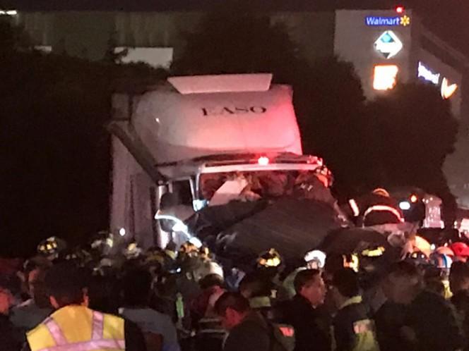 The investigation began for the crime of killing a vehicle. Photo: José Antonio García