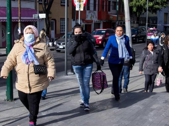 Prevén fuerte descenso de la temperatura en México a partir del lunes