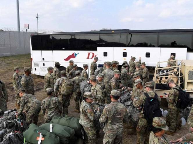 Tropas de EE.UU. permanecerán en la frontera hasta diciembre