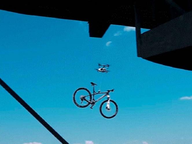 Descubren dron robando bicicletas en República Checa