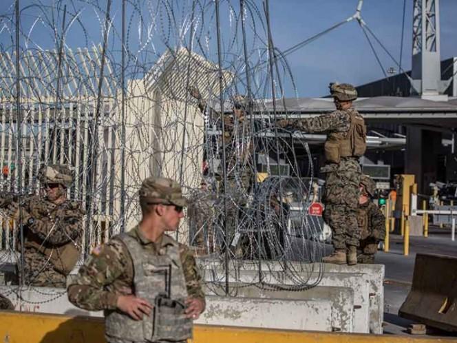 Anuncia CBP cierre de carriles en Otay Mesa por caravana