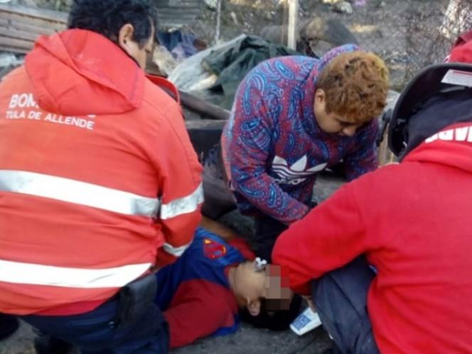 Caen dos en cisterna huachicolera en Hidalgo; hay un muerto
