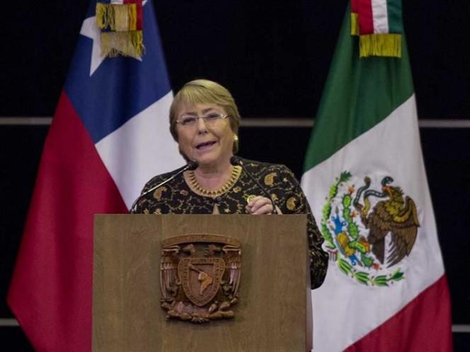 Michelle Bachelet confirma asistencia a toma de AMLO