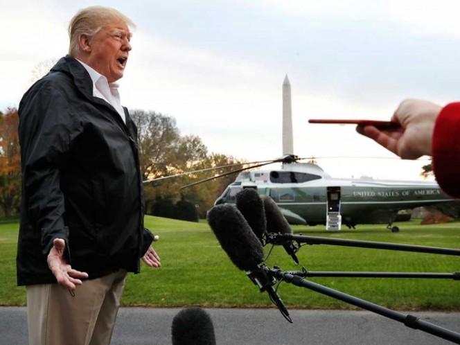 Trump asegura que el equipo de Mueller se