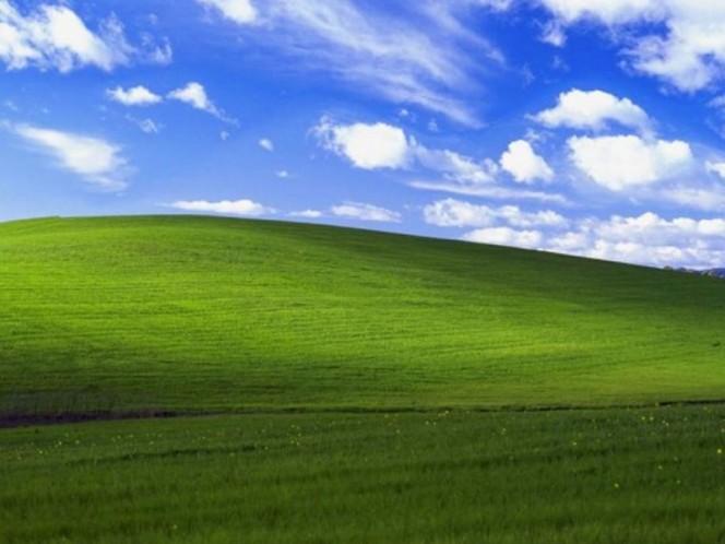 El 'prado perfecto' de Windows XP, ¿existió o es falso?