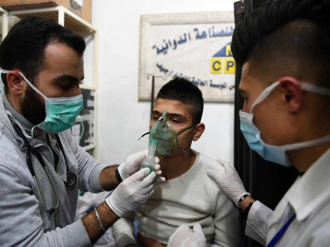A new chemical attack is causing the war in Syria