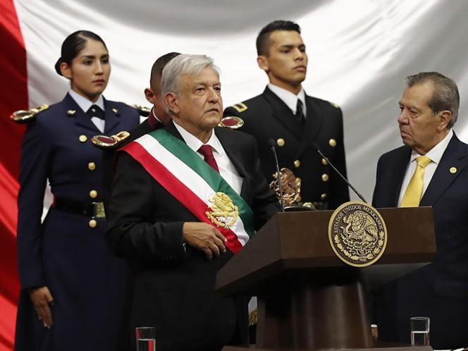 Toma De Posesión De Andrés Manuel López Obrador