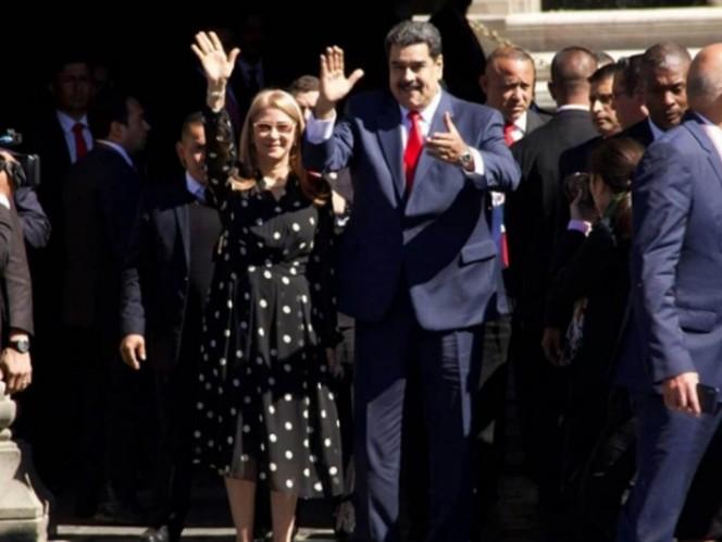 Nicolás Maduro presume en Twitter la recepción de parte de López Obrador