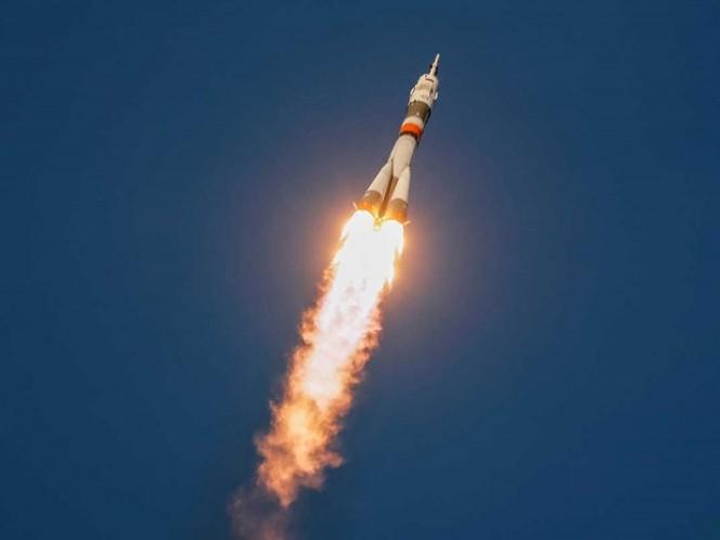 Rusia pone en órbita un Soyuz tripulado a la Estación Espacial Internacional