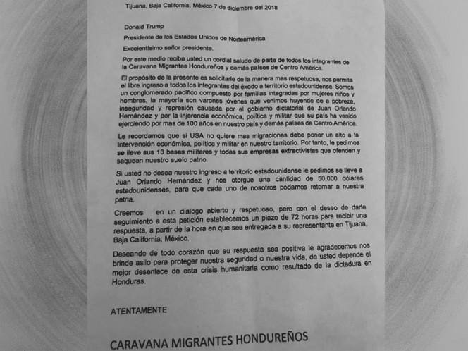 Migrantes exigen 50 mil dólares para regresar a su país