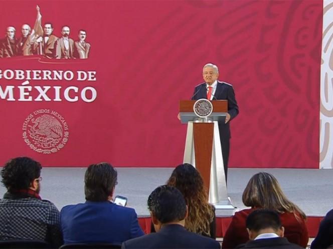 López Obrador precisa: 'No he tocado el tema del muro con Trump'