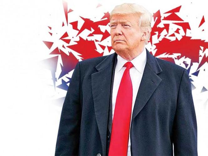 El primer círculo de Donald Trump quiebra