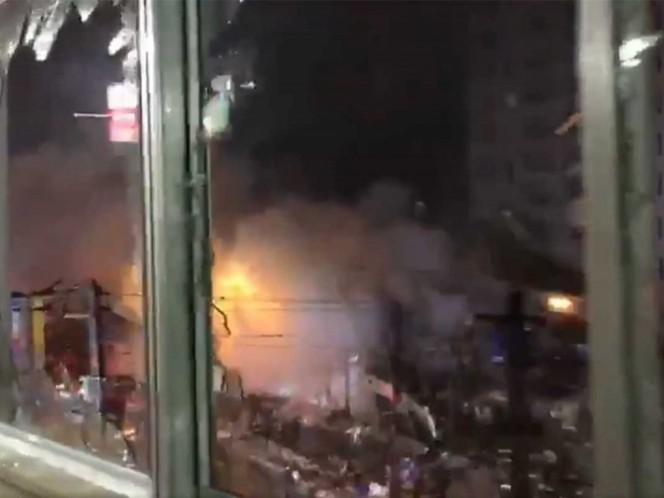 Explosión en un restaurante japonés dejó al menos 40 heridos