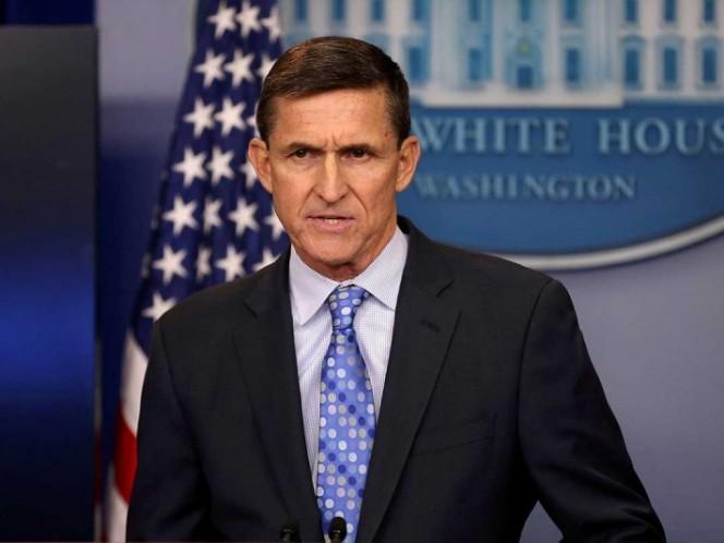 Trump desea suerte a exasesor Flynn, que hoy recibirá sentencia