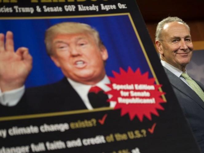 Mayoría republicana en Cámara de Representantes aprueba fondos para muro de Trump