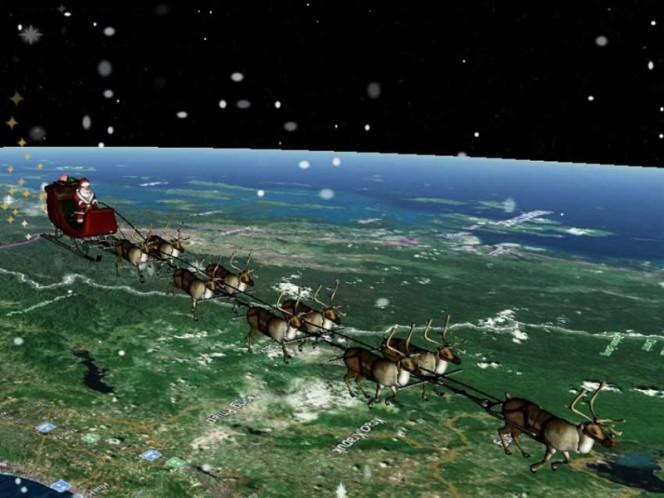Santa Claus, Navidad, Regaos, Felicidad, Tradición, Google, Nonrad