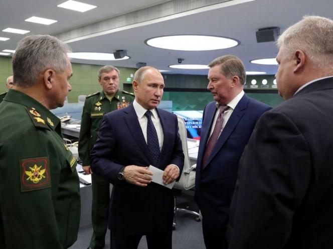 Rusia lanzó su peligroso misil hipersónico Avangard bajo supervisión de Putin