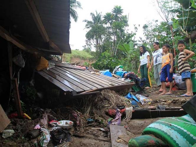 Depresión tropical Usman deja 68 víctimas mortales en Filipinas