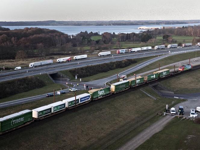 Al menos seis muertos en un choque de trenes en Dinamarca