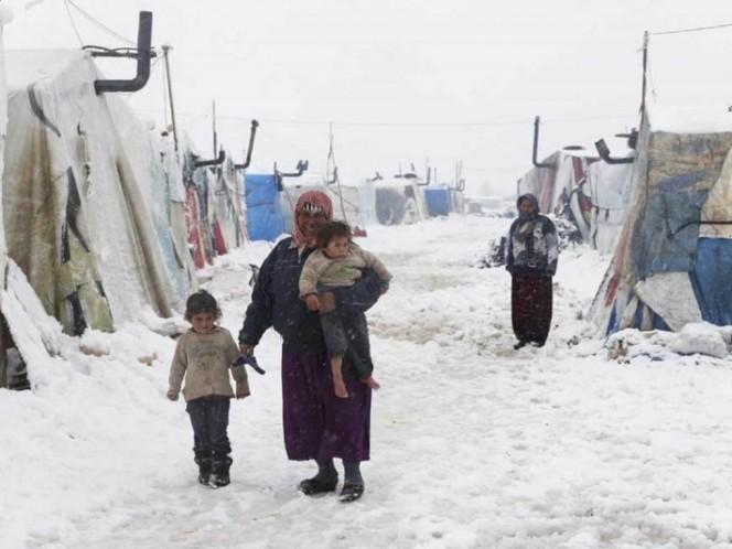 Mueren 15 niños en un mes por frío invernal en Siria