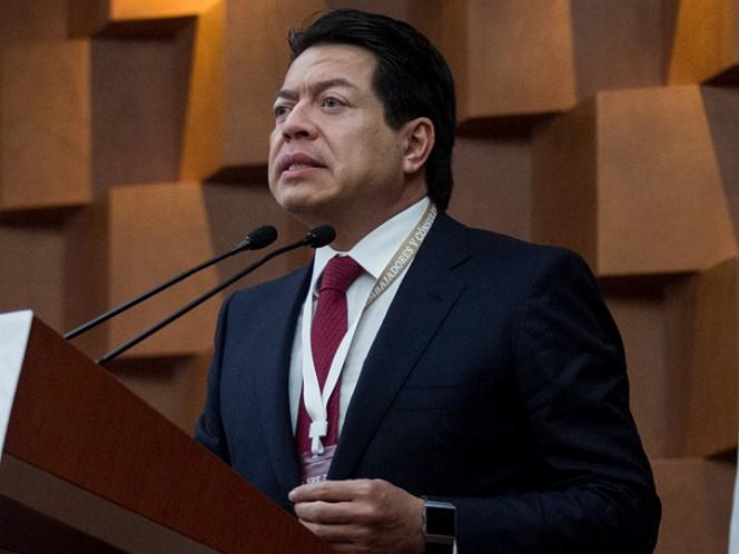 El presidente de la Jucopo, Mario Delgado, destaca que la decisión dependerá de los acuerdos que logre el Senado de la República para llevar a cabo esta modificación. Foto: Cuartoscuro