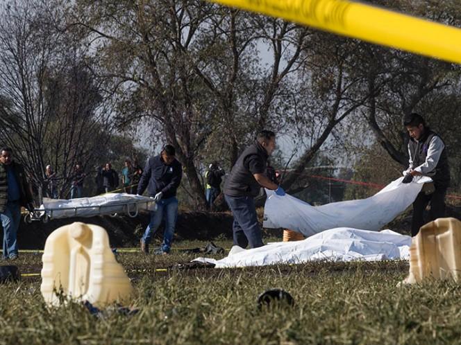Suman 114 muertos por explosión en Hidalgo