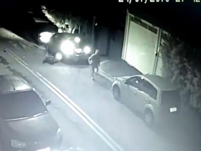 En pleno asalto, ladrón muere de un infarto #VIDEO