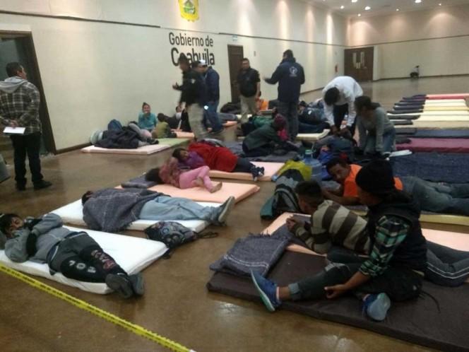 Caravana migrante llega a la frontera con Texas